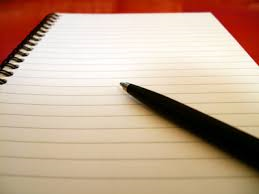 pen and paper